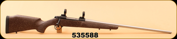 """Consign - Alberta Tactical Rifle - 338-06AI - Custom Sako Action - 25.5"""" SS Bbl, c/w Redding Deluxe Dies & brown soft case"""