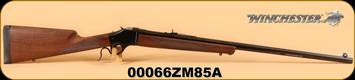 "Winchester - 375H&H - 1885 Highwall Safari - Wd/Bl, 28"" Octagon Bbl - s/n: 00066ZM85A"