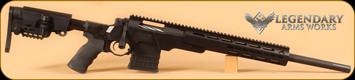 "Legendary Arms Works - M704 - 308Win - Sentinel, Blk Cerakote, Blk Chassis, 20"" Fluted"