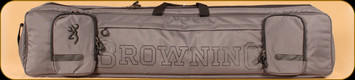"""Browning - Range Pro Rectangle - Rifle Case - 50"""" - Charcoal"""
