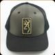 Browning - Hat - Size Adjustable - Hudson Black