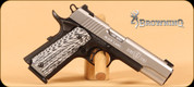 """Browning - 1911-380 - 380ACP - Black Label Pro Stainless, G10 Grips, 4.25"""" (Item: 051922492)"""