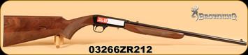 """Browning - SA-22 - 22LR - Grade 1, 19.375"""", s/n: 03266ZR212"""