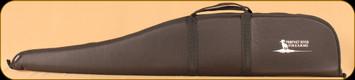 "Gunmate Scoped Rifle Case - Black - 44"" - White Prophet River Logo"