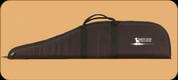 "Gunmate Scoped Rifle Case - Black - 40"" - White Prophet River Logo"