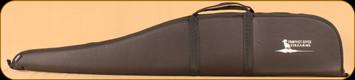 "Gunmate Scoped Rifle Case - Black - 48"" - White Prophet River Logo"