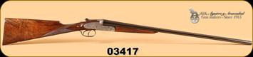 "AYA - No 2 - 28Ga/2-3/4""/27"" - Old Silver, English Stock, Splinter Forend,  IC/M"