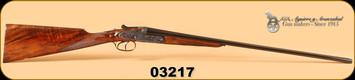 "AYA - No 2 - .410/2-3/4""/26"" - Case Colour Hardened, English Stock, Splinter Forend,  IM/F"