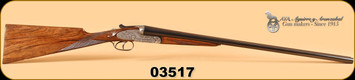 "AYA - No 2 - 16Ga/2-3/4""/27"" - Old Silver, English Stock, Splinter Forend,  IC/M"