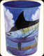 Guy Harvey Marlin Waste Basket