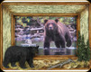 "Bear Picture Frame - 6""x4"""