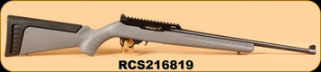 """Consign - Ruger - 22LR - 10/22 - Collector Series, Gry Syn, Peep Sight, 18.5"""""""