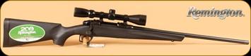 "Remington - Model 783 - 223Rem - Blk Syn/Bl, 22"" c/w 3-9x40 Scope"