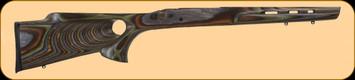 Boyds - Remington 783 LA - Featherweight Thumbhole - Factory Barrel Contour - Forest Laminate