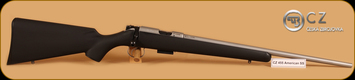 CZ - 455 - 22LR - American Stainless, BlkSyn/SS, 20.5""