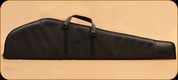 """Levy's Leather - Rifle Case - Black Leather and Suede - 45"""" - SL201-M-BLK"""