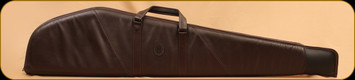 """Levy's Leather - Rifle Case - Dark Brown Leather and Suede - 48"""" - SL201-L-DBR"""