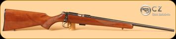 CZ - 455 - 22LR - American - Wd/Bl, 20.5