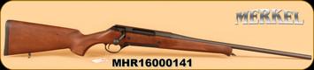 """Merkel - MHR - 6.5x55SE - Wd/Bl, 22"""""""