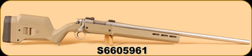"Consign - Remington - 223Rem - Model 700 - SS, Magpul Hunter Stock, Heavy Barrel, 26"", c/w Original Laminate Thumbhole Stock"