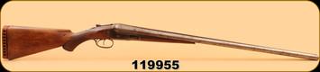 Consign - Parker Bros - SxS - Damascus Barrel - Dual Trigger