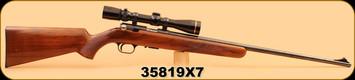 "Consign - Browning - 22LR - T-Bolt - 24"", c/w Leupold Vari-X III 2.5-8 and Peep Sight"