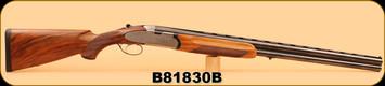 "Used - Beretta - 12ga/2.75""/28"" - S 57 EL - c/w 6 Briley Chokes and Wrench"