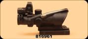 Consign - Trjicon - 4x32 - ACOG - Green BAC w/RMR 3.25MOA
