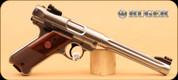 "Ruger - Mark IV - 22LR - Hunter, SS, 2 Mags, 6.9"""