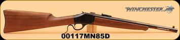 """Winchester - 1885 - 45/70Gov't - Trapper, Wd/Bl, 16.5"""" - S/N: 00117MN85D"""