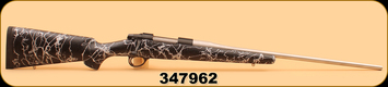 """Consign - Sako - 270WSM - AII - Blk w/White Web Brown Precision Stock, Kevin Wyatt Mag Box, Timney Trigger, Cerakoted, 23"""", c/w 47pc of New Primed Brass"""