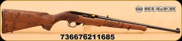 Ruger - 10/22 - 22LR - Wild Hog - Blk Syn, 18.5