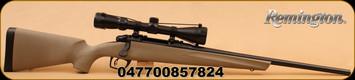 "Remington - 783 - 243Win - FDE Syn Stock, 20"" Bl Brl, Adj Trigger, 3-9x40 Scope"