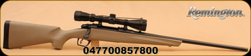 "Remington - 783 - 30-06Spr - FDE Syn Stock, 22"" Bl Brl, Adj Trigger, 3-9x40 Scope"