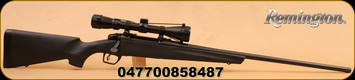 "Remington - 783 - 7mm - Black Syn Stock, 24"" Bl Brl, Adj Trigger, 3-9x40 Scope"