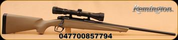 "Remington - 783 - 270Win - FDE Syn Stock,  22"" Bl Brl, Adj Trigger, 3-9x40 Scope"