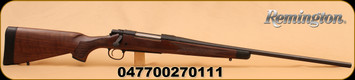 "Remington - 270Win -  700 -CDL  24""  Fluted Brl, Wlnut Stock, R3 Recoil Pad"