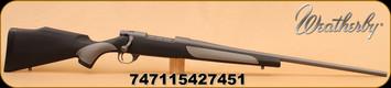 "Weatherby - 257Wby - Vanguard - Weatherguard, Gry/Blk griptonite stock, cerakote 24"" Brl"