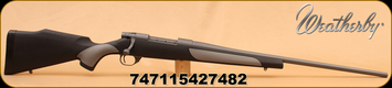 "Weatherby - 300Wby - Vanguard - Weatherguard, Gry/Blk griptonite stock, Cerakote 24"" Brl"