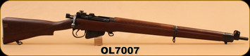 Consign - Long Branch - 22LR - No. 7 MK1 - RARE - C/W Transit Case, Cleaning Rod, Test Targets, Small Chip on But Stock