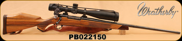Consign - Weatherby - MKV - 300Wby Mag, C/W Talley Rings & Bases - Nightforce - 3.5x15x50,  As combo or make offers if split