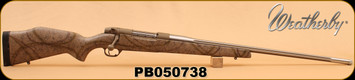 """Consign - Weatherby - 338-378WBY MAG - Mark V Terramark RC - 26"""" Fluted SS, Approx 50 rounds C/W Muzzle Brake"""