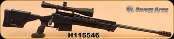 Consign - Savage - 338Lapua - 110BA - ALUM Tactical Stock, C/W Leuppold MK IV 8.5-25x50