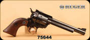 "Consign - Ruger - 357 - Blackhawk, 6.5"", Original 3 Screw Flattop, unmodified with no transfer bar, collector's dream."