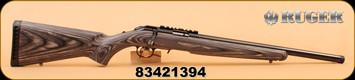 """Ruger - 22LR - American - 18"""", Blk Lam/Blued"""