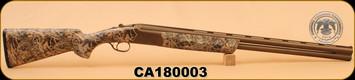 "Huglu - Ventus - 12Ga/3""/28"" - Cerakote Camo/Bronze, O/U w/Ejectors, single trigger"