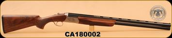 """Huglu - Ventus - 12Ga/3""""/28"""" - Silver/Bronze, O/U w/Ejectors, single trigger"""