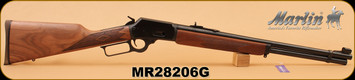 "Marlin - 45Colt - 1894 - American Walnut Stock/Blued, 20"" Barrel, s/n MR28206G"