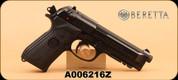 "Consign - Beretta - 92A1 - 9mm, 4.9"""