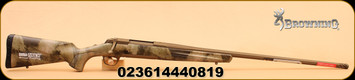 Browning - X-Bolt Hells Canyon Long Range - 26 Nosler, Syn with Dura-Touch Armor/Burnt Bronze finish on metal, 26""
